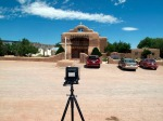 Camera in place, Abiquiu, NM