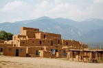 1000 year old Taos Pueblo, New Mexico