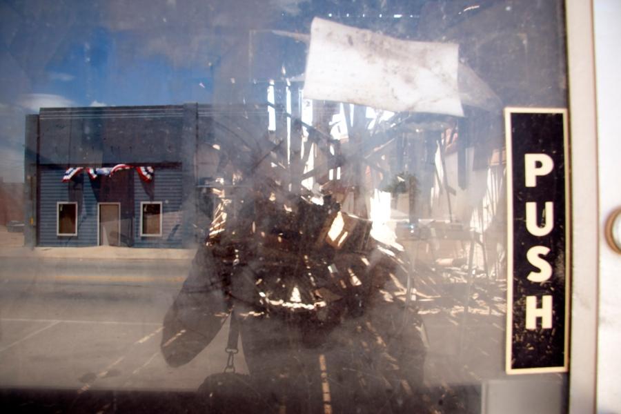 Poverty on Main Street of Stamford, Texas