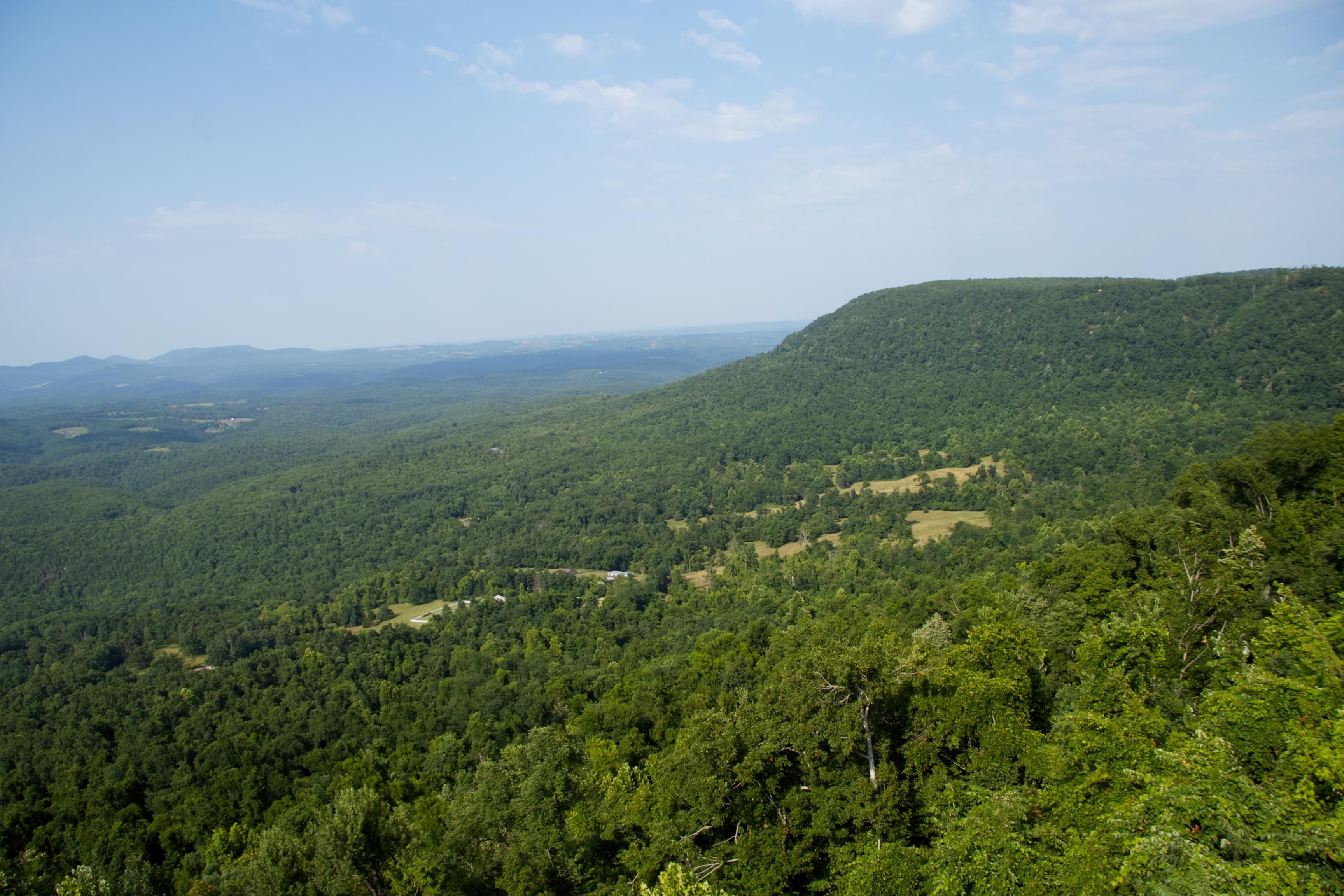 The Ozark mountains, Arkansas | Library Road Trip
