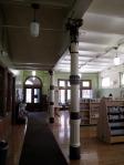 Interior, Carnegie library, Braddock, PA