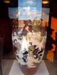 Chinese vase in library, Lowell, MA