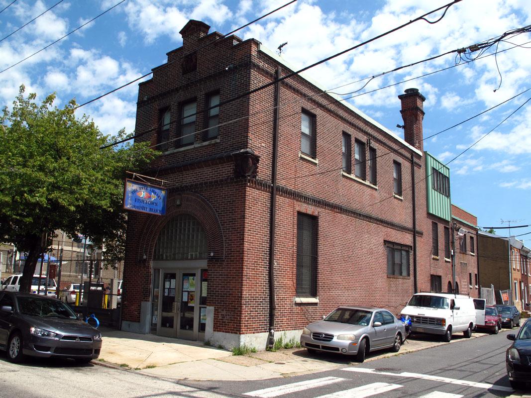 Philadelphia pa and the farm library road trip for Fish town philadelphia