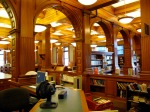 Interior arches in library, Lowell, MA