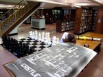 Man asleep, Chess Room, Baltimore, MD