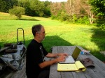Writing at the Farm, VT