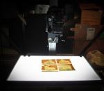Copying color film