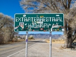 Extraterrestrial Highway sign, NV