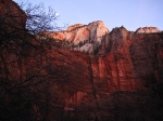 Last light, Zion National Park, UT