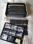 Medium format negatives and contact sheets