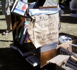 Occupy Tucson library, Tucson, AZ