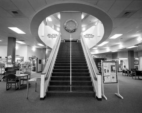 Stairway in Main Library, Midland, TX