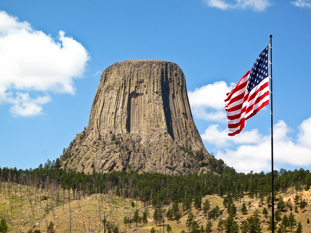 Devils Tower Wy >> DEVIL'S TOWER TO LANDER, WYOMING | Library Road Trip