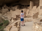 Kid photographing, Mesa Verde, CO