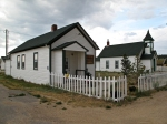 Library and school, Hartsel, CO