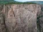 Sheer wall, Black Canyon of the Gunnison, CO
