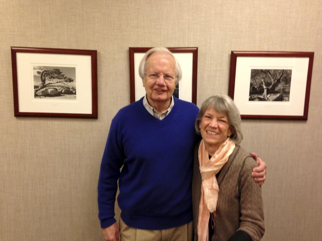 Bill Moyers and Ellen