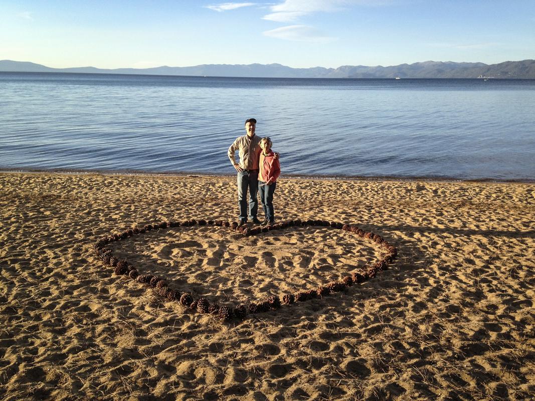 RD and Ellen, Lake Tahoe, CA