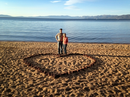 RD and Ellen, Lake Tahoe, CA