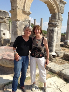 Ellen and Martha Wright in Turkey