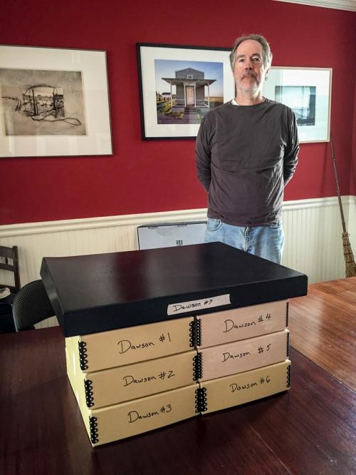 21 years of libraries + Robert Dawson, San Francisco, CA