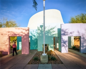 Entrance, Rainbow branch library, Las Vegas, NV