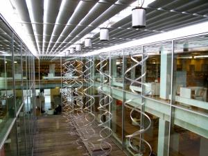 Interior, Kolding Bibliotek, Denmark
