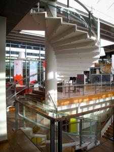 Stairway, Kolding Bibliotek, Denmark