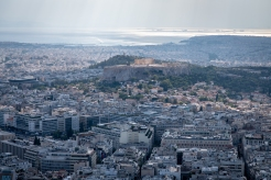 View from Mt. Lycabettus, Athens