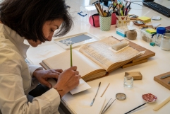 Conservation Lab, National Library of Greece, Athens
