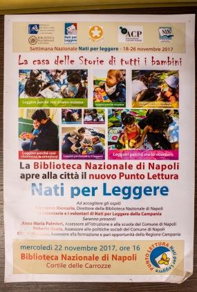 Born to Read (Nati per Leggere) program, Biblioteca Nazionale di Napoli