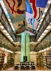 Library, Brandiforte Palace, Palermo, Sicily