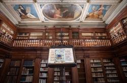 Library, Praglia Abby, near Padova