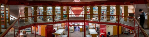 Medical Library, Ben Gurion University, Beer-Sheva