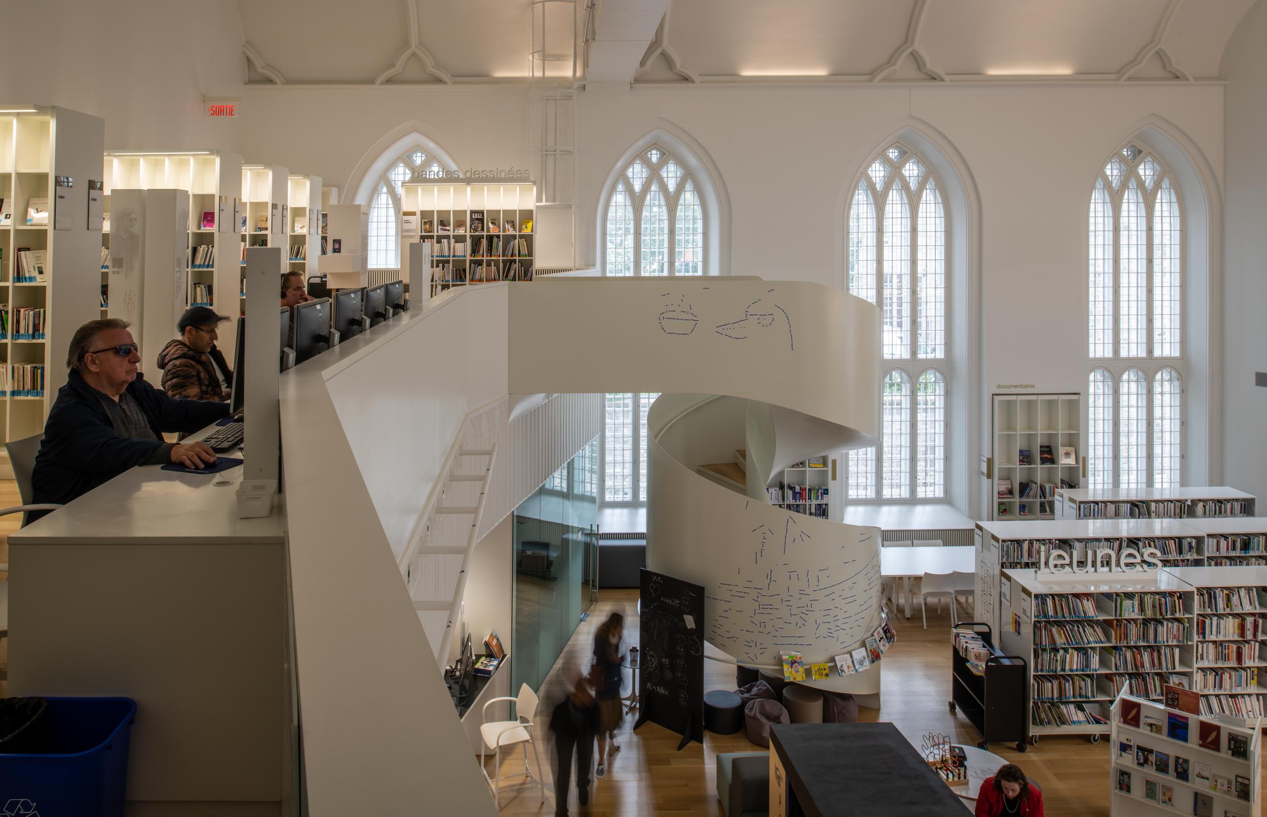 House of Literature, Québec City, QC