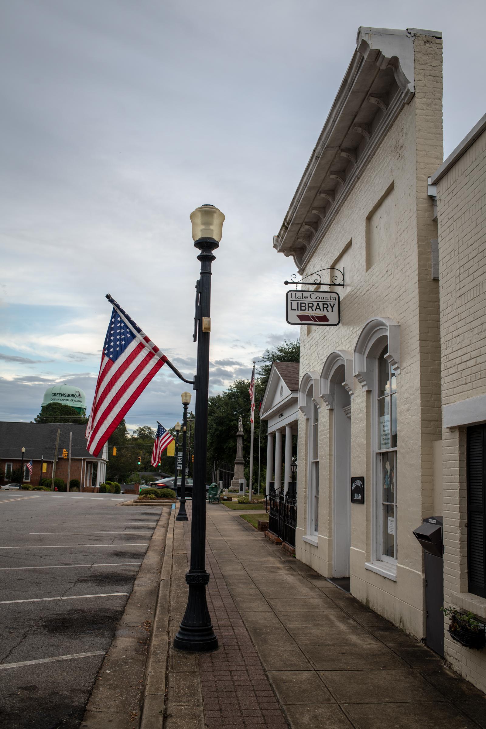Hale County Library, Greensboro, AL